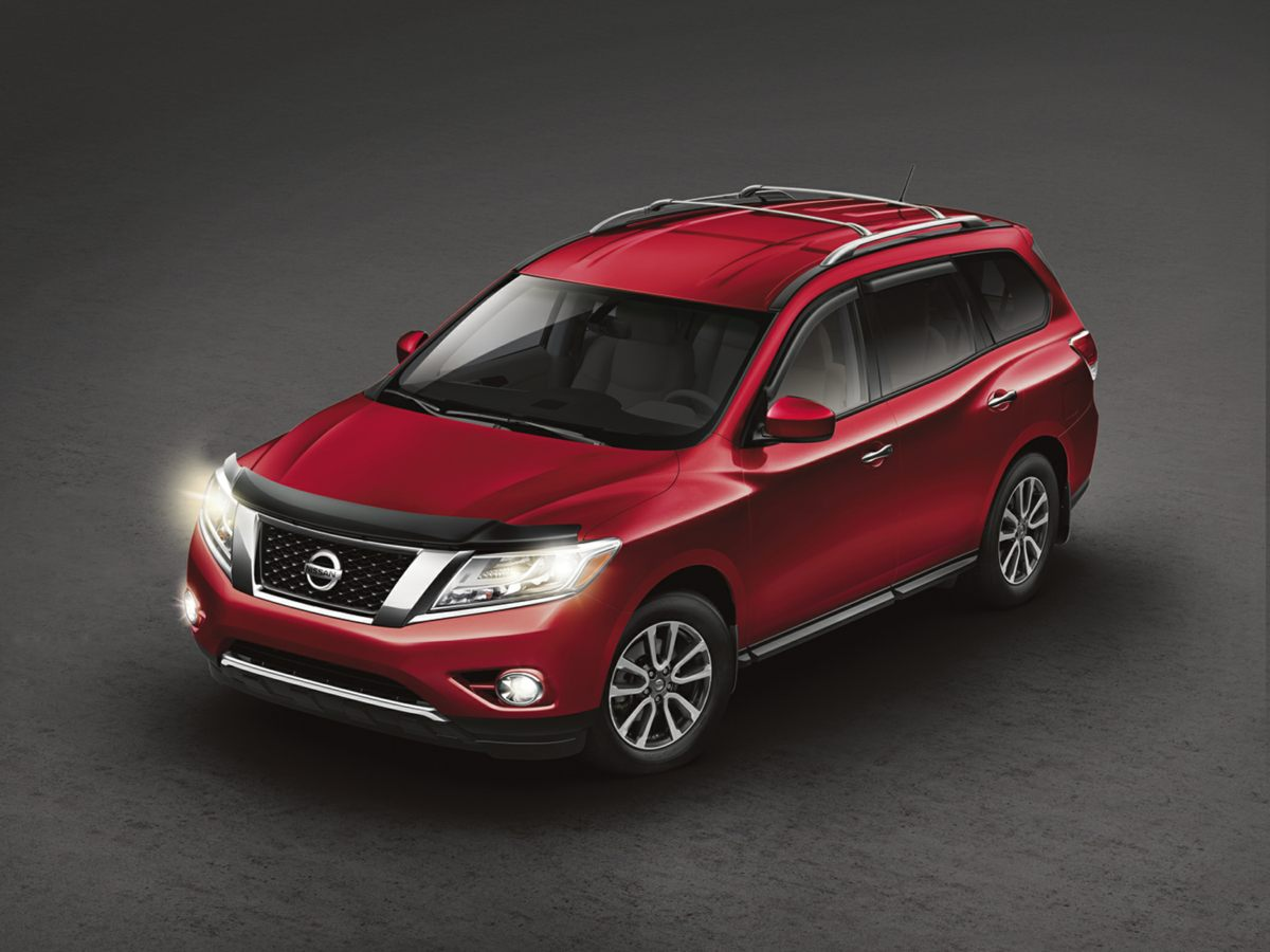Pre-Owned 2014 Nissan Pathfinder SL 4D Sport Utility in North Little ...